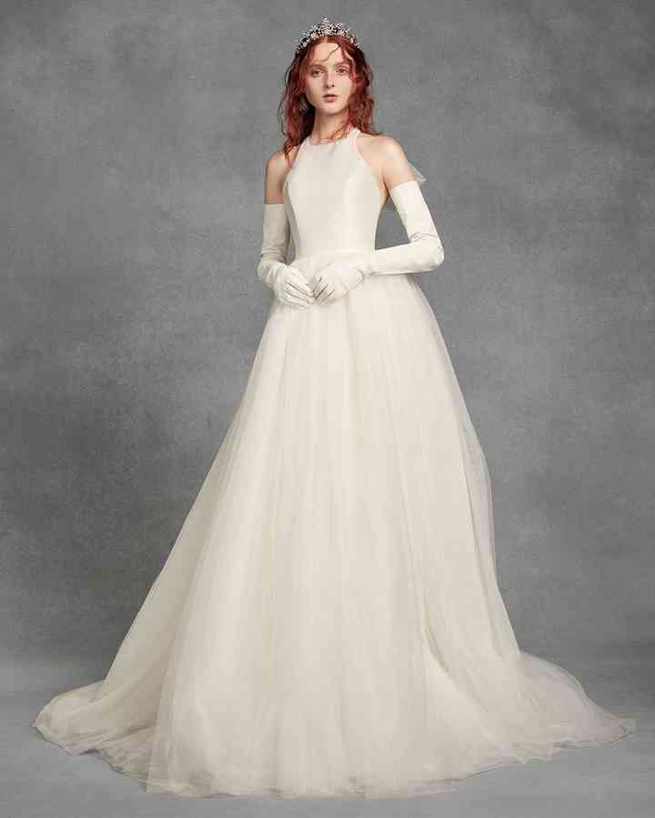 David's Bridal: White By Vera Wang
