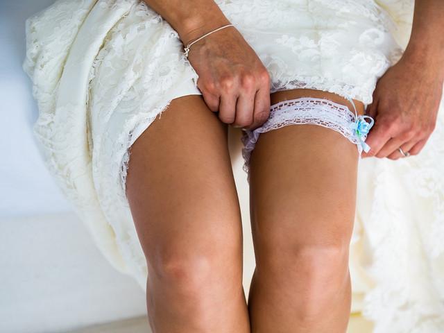 ¿Por qué las novias usan la liga?
