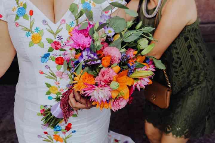 ramo de novia mexicano