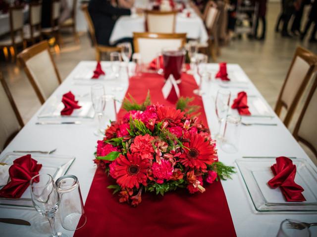 Las mejores ideas para tener una boda en rojo y blanco