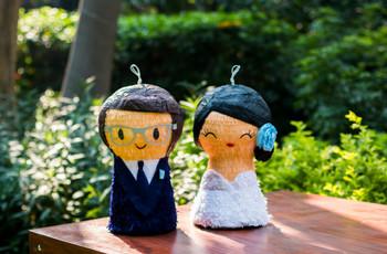 Piñatas, la clásica novedad para animar las bodas
