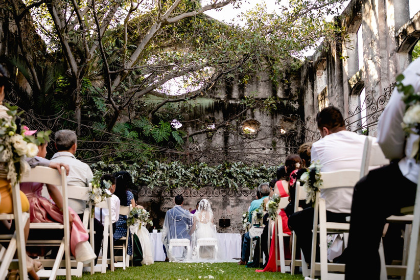 boda al aire libre en hacienda