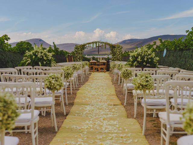 Decoración del pasillo de la boda, llenen de encanto su camino al altar