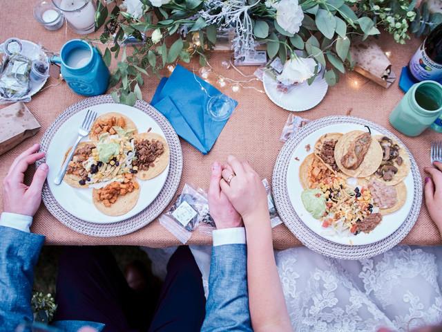 ¿Cómo hacer para que no sobre tanta comida en la boda?