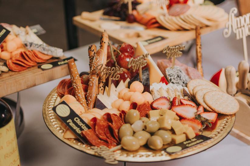 comida para boda en primavera-verano
