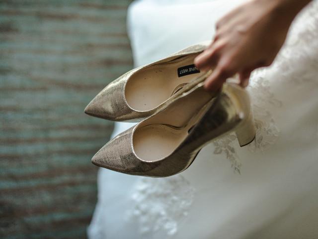 5 razones para tener un segundo par de zapatos de novia