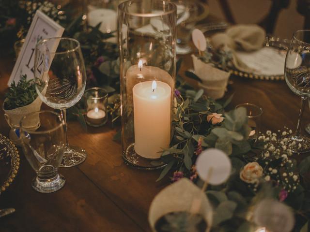5 ideas para decorar con velas la ceremonia y recepción de boda