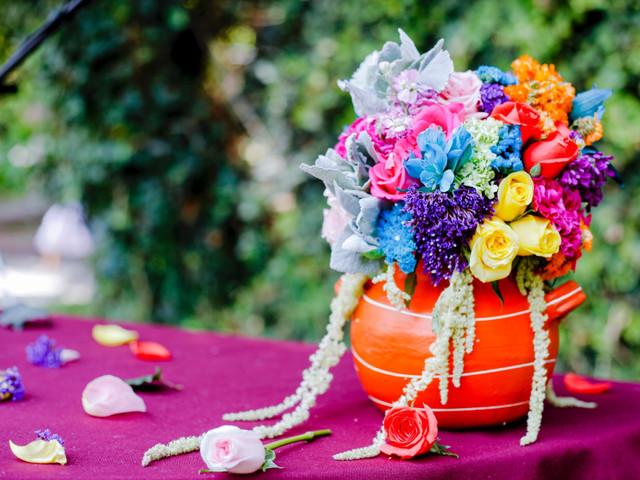 25 centros de mesa para bodas en primavera