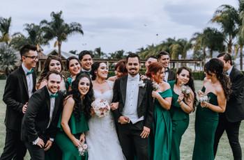 ¿Cuántos padrinos y madrinas necesitan para la boda?