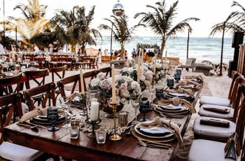 7 ideas para decorar las mesas del banquete, ¡vean las últimas tendencias!