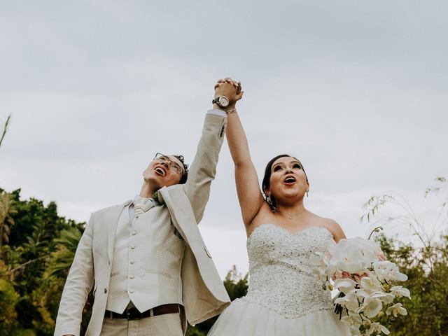 Los momentos más alegres de la boda, según las novias de Bodas.com.mx