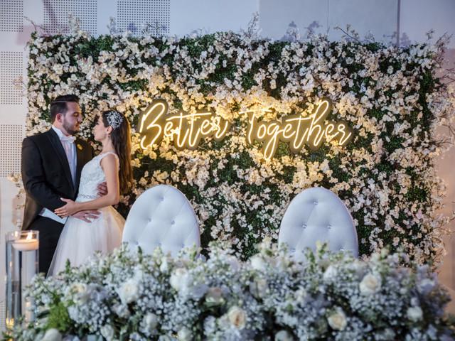 Letras luminosas para decorar su boda y ¡que brille su amor!