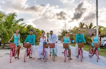 Bicicletas en la boda: 8 usos de los que se van a enamorar
