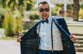 7 trucos para evitar manchas de sudor en la camisa del novio