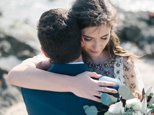 45 imágenes de los abrazos más emotivos en la boda