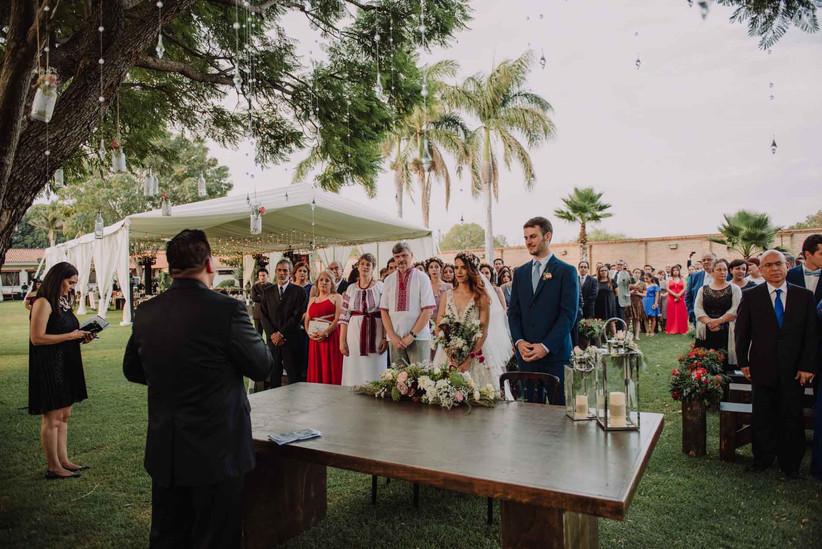 protocolo de recepcion de boda cristiana