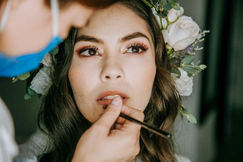 maquillaje de novia natural para boda