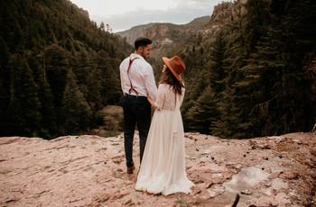 Boda en un bosque: una celebración para parejas encantadas