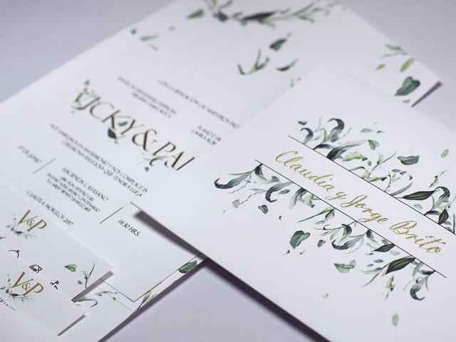 """Invitaciones de boda invernales, """"sí"""" a estos diseños modernos y elegantes"""