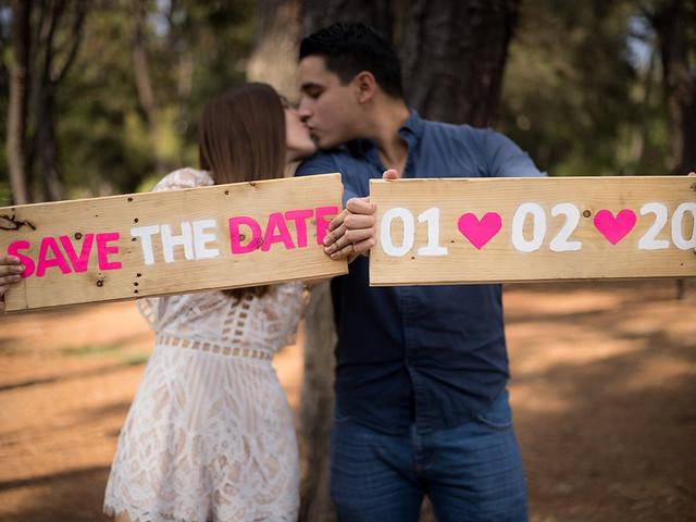 12 ideas para un 'save the date' único y original