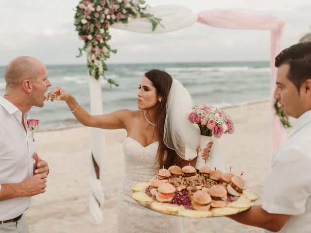 Comida rápida: 6 opciones para la 'torna' y bodas tipo coctel