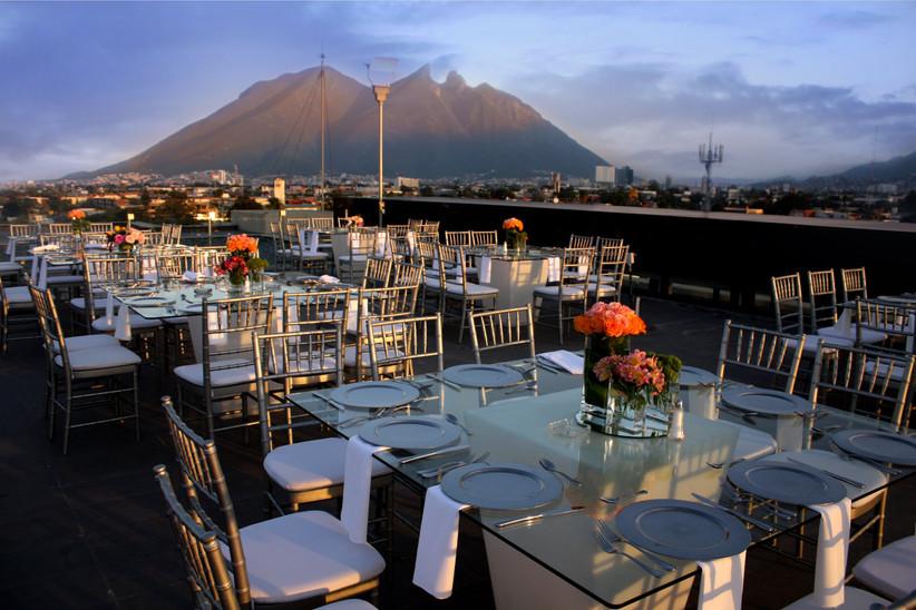 vistas de hotel para boda en México