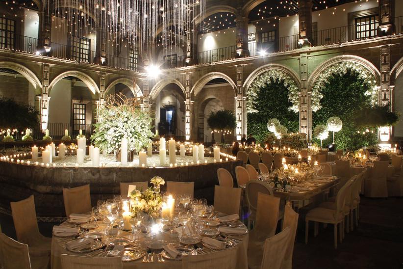 boda en salón convento para boda en México