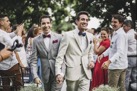 Marido y marido: ideas para elegir los trajes de los dos novios
