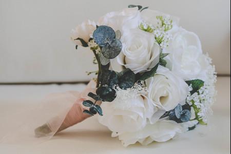 Ramos de novia artificiales: 6 factores que debes tener en cuenta