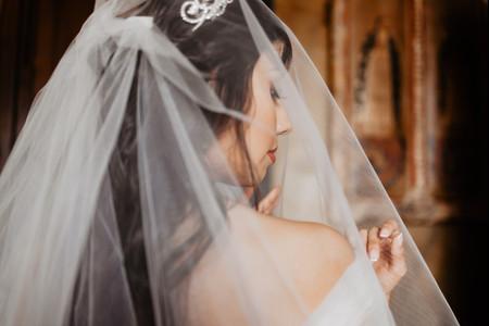 Tejidos para el velo de novia: ¿conoces los más habituales?