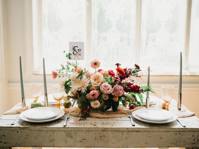 6 reglas de oro para la decoración floral de su boda