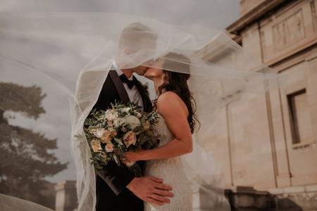 Del 1 al 12, ¿qué tan largo será tu velo de novia? ¡Descubre todos los tamaños que existen!