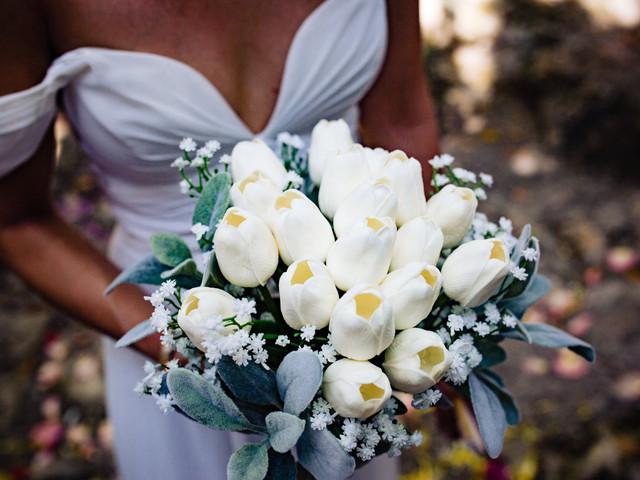 30 ramos de novia blancos: completa tu look 'pure white'