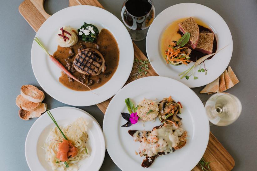 ejemplos de menús para bodas en México