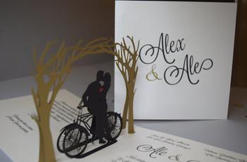 Invitaciones de boda originales: entusiasmen a sus invitados ¡desde ya!