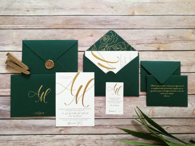 Invitaciones para bodas otoñales: que no se marchite la inspiración