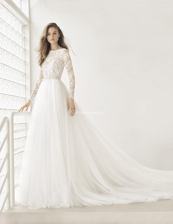 vestido de novia de rosa clará - poema