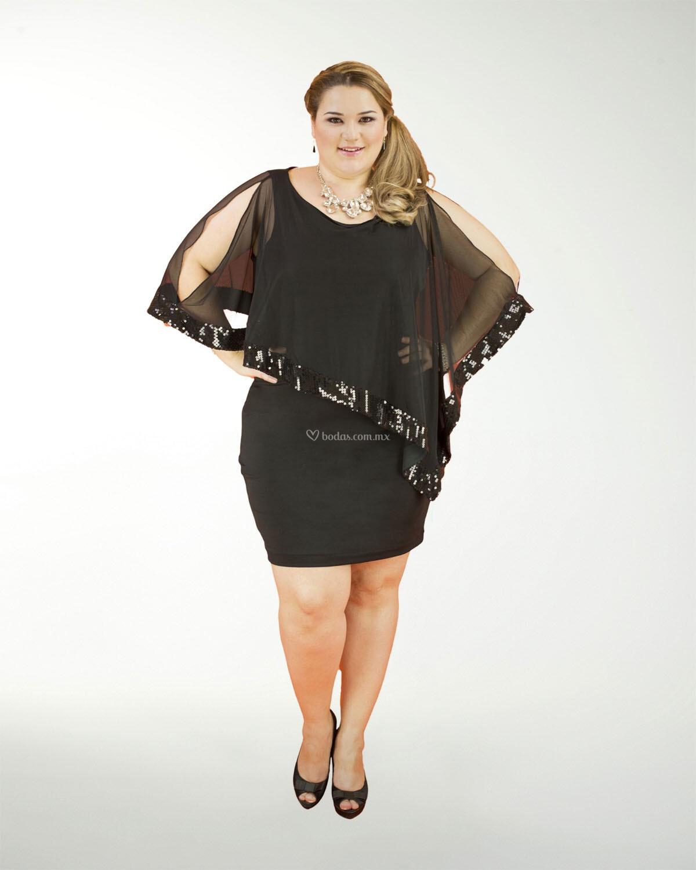 Vestido De Fiesta De Liz Minelli 5cc04024neg