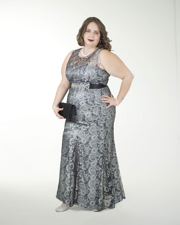 Vestido De Fiesta De Liz Minelli 5cl04415pla