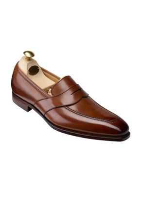 KINGSTON Tan Antique Calf, Crockett & Jones