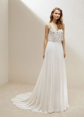 SKIRT ULULA /  TOP ULLOA, Pronovias