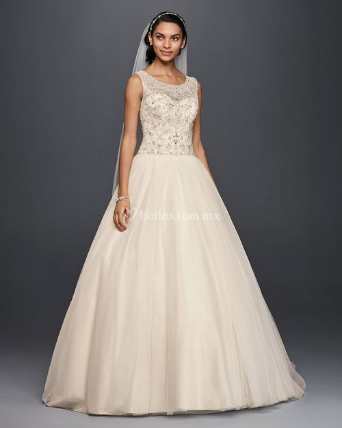8000086, David's Bridal: Oleg Cassini