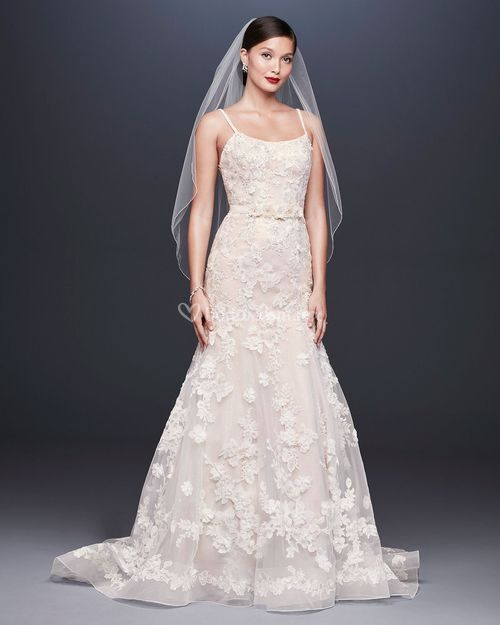 8001936, David's Bridal: Oleg Cassini