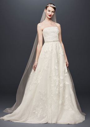 8001365, David's Bridal: Oleg Cassini