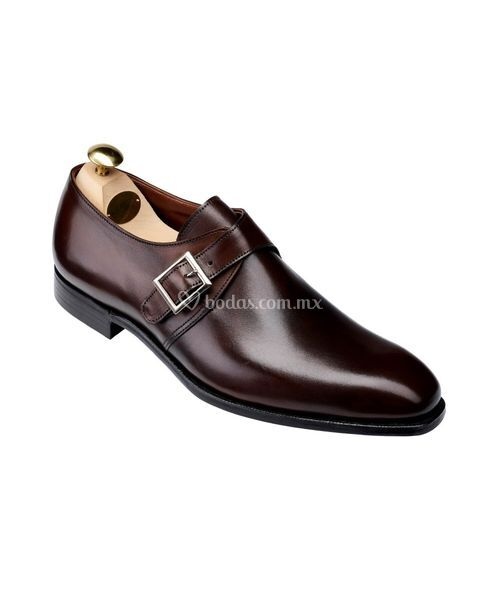 savile iv Dark Brown Antique Calf, Crockett & Jones