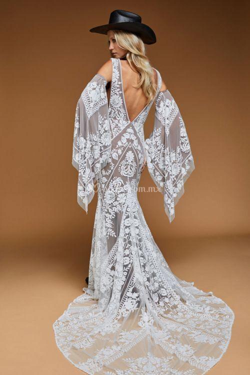 Jackson Gown Nude, Rue De Seine