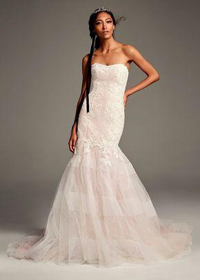 8002201, David's Bridal: White By Vera Wang