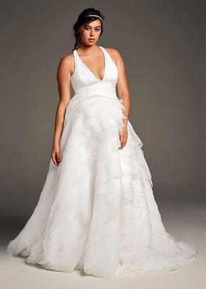 8002039, David's Bridal: White By Vera Wang