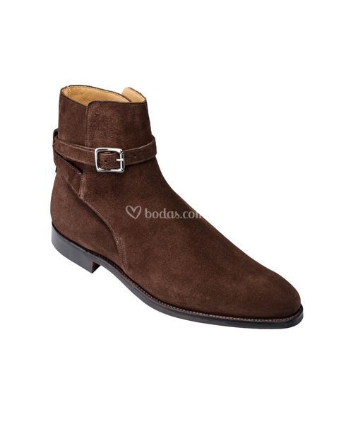 cottesmore Dark Brown Suede, Crockett & Jones