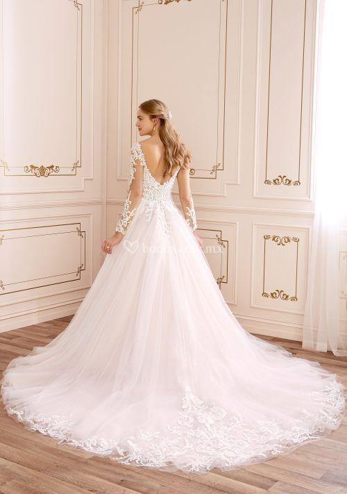 y22054b, Mon Cheri Bridals
